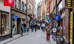 Stockholm, Sweden (PhredKH) Tags: canonphotography city cityscene cityview cityscape fredknoxhooke fredkh photosbyphredkh phredkh sailingship splendid stockholm sweden swedish travelphotography traveltostockholm traveltosweden trees boats sky water streetphotography streetscene oldtown