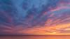 Sunset in Bonita (Tims.Travels) Tags: sunset sun beach florida nikon tokina orange pink blue landscape water ocean sky clouds fineart dusk sunlight golden hour naples bonita horizon beauty earth wide angle crop