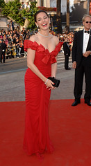 Kelly Brook at 'The Da Vinci Code' World Premiere and Festival Opening at the 2006 Cannes Film Festival in Cannes, France  May 17 2006 (antoniusbudyono11) Tags: cannes france