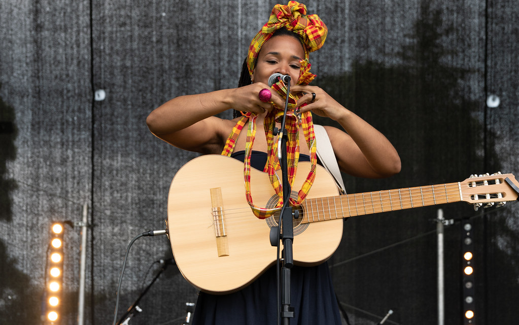 INES KHAI FROM GUADELOUPE [AFRICA DAY 2018 IN DUBLIN]-140496