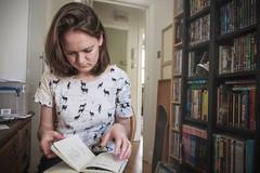 Fulham (theAdhocracyUK) Tags: book home london portrait reading study