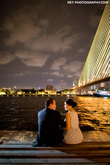 Rama VIII Bridge Bangkok Thailand Wedding Photography (NET-Photography | Thailand Photographer) Tags: 2013 24mm 24mmf14 6400 d4 ramaviiisuspensionbridge bangkok bkk camera engagementsession f14 iso iso6400 nikon prewedding prenup prenuptial rama8bridge ramaviiibridge suspensionbridge th tha thailand netphotography photographer photography professional service wedding documentary honeymoon session best postwedding couple love asia asian destination popular thai local