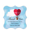 Journey Thank You Sticker (Set of 25 pcs) (Gift Elements) Tags: gifttags wedding stickers weddingtags weddinggifttags weddingstickers thankyou hotairballoon journey giftwrapping favour favor favorsticker weddingparty creative customise customize personalise giftelements