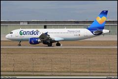 "AIRBUS A320 212 Condor ""Thomas Cook"" D-AICH 0971 Stuttgart avril 2018 (paulschaller67) Tags: airbus a320 212 condor thomascook daich 0971 stuttgart avril 2018"