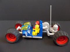 LL28 Lunar Excursor (SaurianSpacer) Tags: lego moc ncs neoclassicspace classicspace spacerover moonbuggy