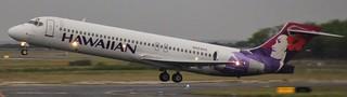 N484HA | Hawaiian Airlines | HA332 | HNL - ITO | Boeing 717-22A | Daniel K. Inouye International Airport | (HNL/PHNL)