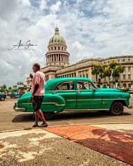 El Capitolio (Havana, Cuba 2012) (Alex Stoen) Tags: alexstoenphotography canoneos5dmarkii capitolio cuba lahavana maquina parquecentral streetphotography travel classiccars