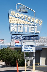 Monterey Motel (dangr.dave) Tags: bernalillocounty nm newmexico albuquerque downtown historic architecture neon neonsign montereymotel