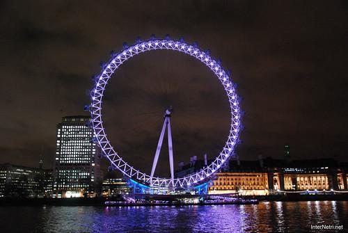 Око Лондона вночі InterNetri United Kingdom 0438