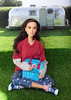 Staying in the shade (FreeRangeBarbie) Tags: barbie wonderwoman fjallraven diorama miniature onesixthscale fashiondoll