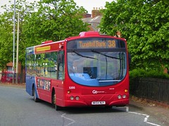 Go North East 5205 (NK54NUY) - 26-05-18 (peter_b2008) Tags: gonortheast goaheadgroup gonorthern scania l94ub wrightsolar 5205 nk54nuy buses coaches transport buspictures