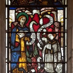 St Mary's Church | Shrewsbury-41 (Paul Dykes) Tags: shrewsbury shropshire uk gb unitedkingdom stmaryschurch religiousbuilding church mediaevalstainedglass medievalstainedglass