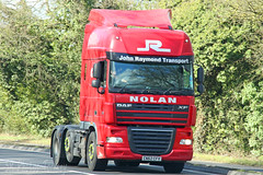 DAF XF John Raymond Transport CN62 CFV (SR Photos Torksey) Tags: transport truck haulage hgv lorry lgv logistics road commercial vehicle freight traffic daf xf john raymond