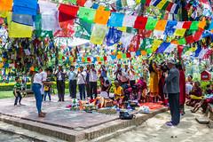 Nepal 2018_-137 (sandmilk) Tags: nepal prayers flag lumbini buddha birthplace praying