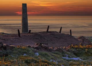 Calciner Chimney, Botallack, West Penwith, Cornwall