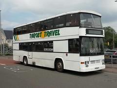 Target Travel H178GTT (Devon and cornwall Bus Spotter) Tags: target travel h178gtt volvo b10m plymouth bus devon