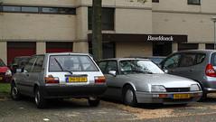 1986 Toyota Corolla & 1987 Citroën CX (rvandermaar) Tags: 1986 toyota corolla 1987 citroën cx citroëncx citroen ph12jv 96jjjr rvdm