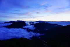 雲海in XiangYang Mountain (qqazwws18) Tags: dawn mountain sonya6000 sony cloud 雲海 travel trekking 嘉明湖 向陽山 taiwan
