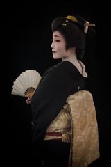 Chiomi of Shinbashi (Rekishi no Tabi) Tags: geisha geigi geiko japan tokyo shinbashi ginza fujifilm xpro2