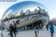 The Bean, Millenium Park, Chicago (vdwarkadas) Tags: bean milleniumpark cloudgate anishkapoor architecture chicago il illinois sony sonya6000 sonyilce6000
