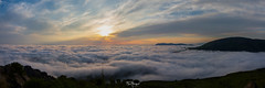 Sunday morning over the clouds (FloArmengaud) Tags: mountains clouds sunday mondarrain pays basque pyrenees sunrise artzamendi
