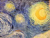 New York, Museum of Modern Art, van Gogh, The Starry Night detail DSCN3237 (ianw1951) Tags: art artgalleries moma newyork paintings vangogh