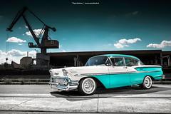 1958 Chevrolet Bel Air - Shot 5 (Dejan Marinkovic Photography) Tags: 1958 chevrolet chevy bel air impala american classic car strobist automotive
