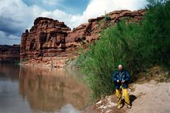 Lathrop Canyon, Utah (twm1340) Tags: april 1995 canyonlands motorcycle trip colorado river jre national park