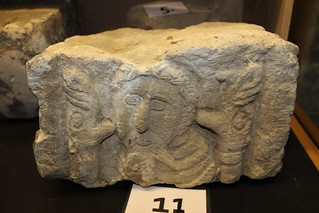 Part of an Anglo Saxon /Viking cross.