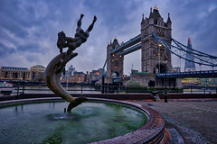 Comparison is the thief of happiness (Jim Nix / Nomadic Pursuits) Tags: aurorahdr2018 england europe hdr jimnix lightroom london luminar2018 macphun nomadicpursuits skylum sony sonya7ii towerbridge uk unitedkingdom bluehour fountain highdynamicrange sculpture travel