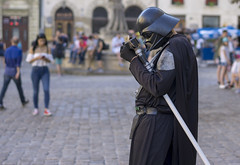 Lviv, Ukraine, Darth Vader (ffagency.com) Tags: lviv lwow lvov ukraine ukraina travel streetphoto europe people