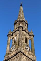 Tron Kirk (richardr) Tags: edinburgh clock church spire midlothian building architecture scotland scottish britain british greatbritain uk unitedkingdom europe european history heritage historic old royalmile kirk tronkirk