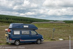 VW T4 Carthago Malibu @ Camster Cairns/SCO