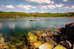 Watery Steps (Joe Hayhurst) Tags: 2018 highlands joehayhurst landscape may nikon scotland summer torridon shieldaig boats long exposure