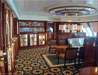 Queen Mary 2 - Bibliothek