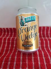 BAD Co Orange Wedge (DarloRich2009) Tags: badcobrewingdistillingcompany badco orangewedge stout badcoorangewedge beer ale camra campaignforrealale realale bitter handpull brewery