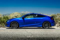 Honda Civic Coupe on TSW Mallory wheels (tswalloywheels1) Tags: honda civic coupe tsw mallory aftermarket wheels wheel rim rims black alloy alloys blue