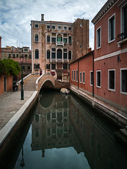 Venice canal (Aresio) Tags: venice canal water architecture building reflection
