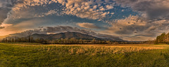 Cades Cove Pasture (Tim Lumley) Tags: cadescove gsmnp greatsmokymountiansnationalpark tn tennessee usa unitedstates cloud dawn dramatic field fog goldenhour haze landscape landscapephotography meadow morning mountain nature naturephotography naturescape outdoors panorama pasture prairie rural sky sunrise wideangle greatsmokymountainsnationalp