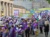 Suffragette Centenary March Edinburgh 2018 (105) (Royan@Flickr) Tags: suffragettes suffrage womens march procession demonstration social political union vote centenary edinburgh 2018