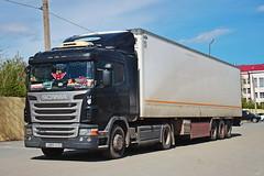 Scania G400  Е 889 ТР 21 (RUS) (zauralec) Tags: автомобиль грузовик автопоезд город курган scania g400 е 889 тр 21 rus kurgan rioshoppingcenter рио