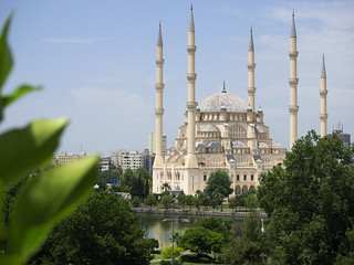 Sabanci Central Mosque in Adana, Turkey