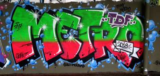 graffiti Koog aan de Zaan