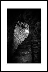 Spiral Staircase and window (balb_kubrox) Tags: ireland nikon d5500 nikkor 1020mm f4556 slane castle church graveyard meath