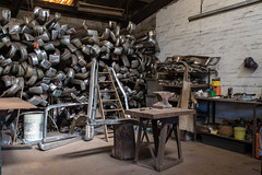 Braybrook (Westographer) Tags: braybrook melbourne australia westernsuburbs workplace industrial workshop anvil bumperbars fenders metalpolisher electroplater oldschool