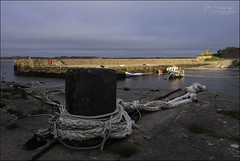 24 Hours (North Light) Tags: coast harbour sunlight bollard rope boats castlehillharbour dunnetbay caithness scotland