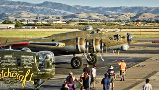 1944 Boeing B-17 Flying Fortress N93012 c/n 32264 at Livermore Airport California. 2018.