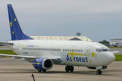 Astraeus - Boeing 737-3S3 G-STRA @ Cardiff (Shaun Grist) Tags: gstra astraeus boeing 737 shaungrist cwl egff cardiff cardiffairport cardiffrhoose rhoose wales airport aircraft aviation aeroplanes airline avgeek
