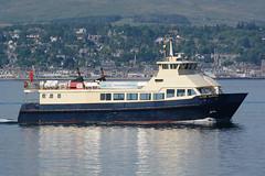 MV Clyde Clipper - Greenock - 28-05-18 (MarkP51) Tags: mvclydeclipper greenock firthofclyde clydecruises ship boat vessel maritimephotography sunshine sunny nikon d7100