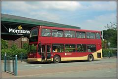 Tanat Valley 575 (Jason 87030) Tags: eastlancs dennis trident shropshire oswestry tanatvalley 575 2018 may doubledecker wheels bius station sony alpha a6000 ilce nex lens tag flickr bus publictransport lw05pjo